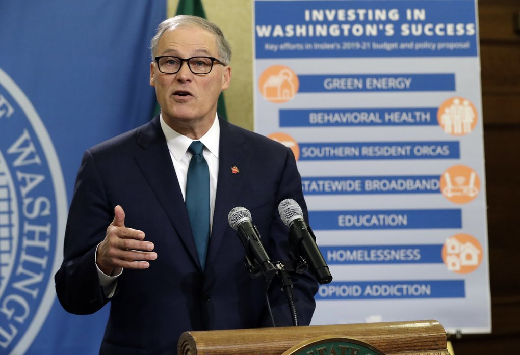 Image result for photos of gov jay inslee
